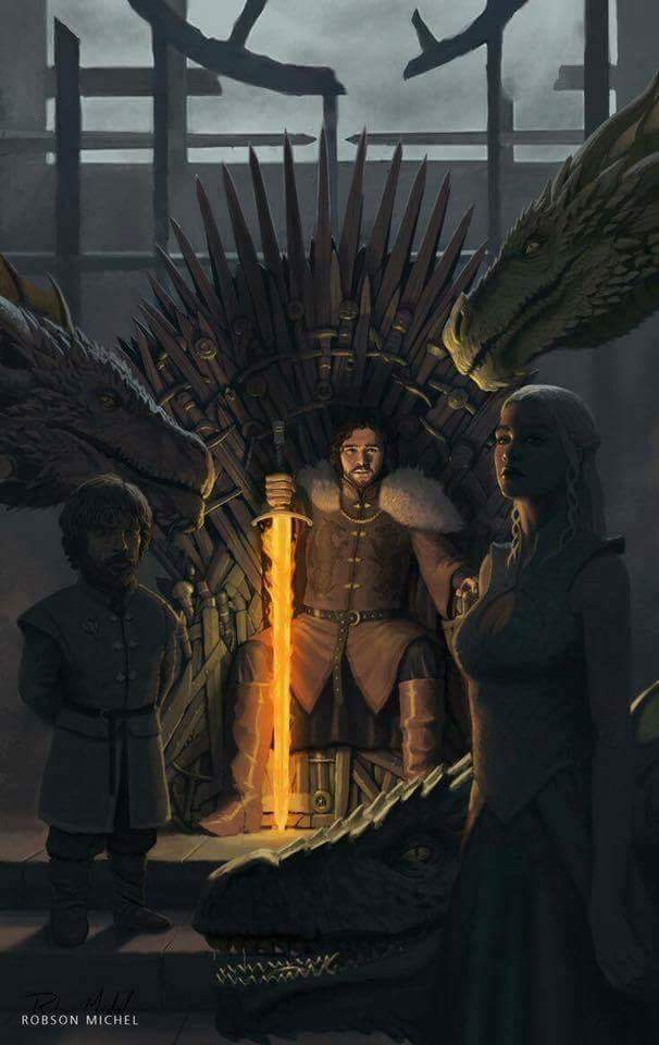 an analysis of the rightful heir of the throne Then, 17 years before the start of game of thrones, robert baratheon usurped aerys ii targaryen (the mad king), and eliminated the targaryen king's remaining heirs — or so he thought with daenerys targaryen finally touching ground in westeros, the baratheon line's claim to the iron.