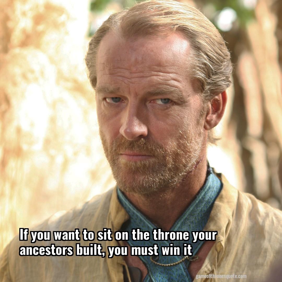 Ser jorah quotes