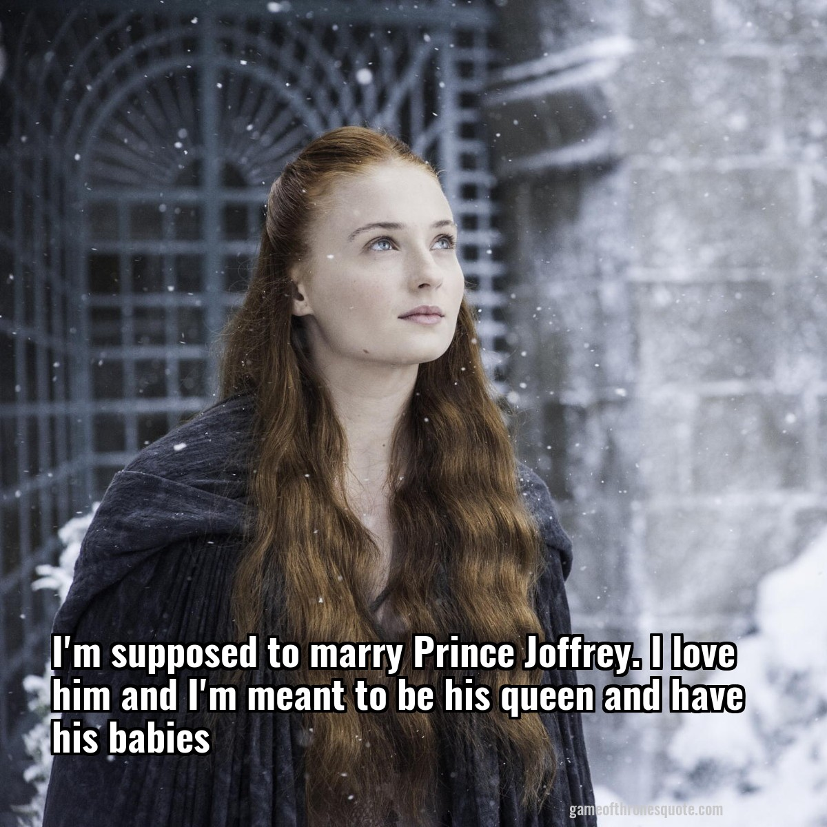 Image result for sansa joffrey babies
