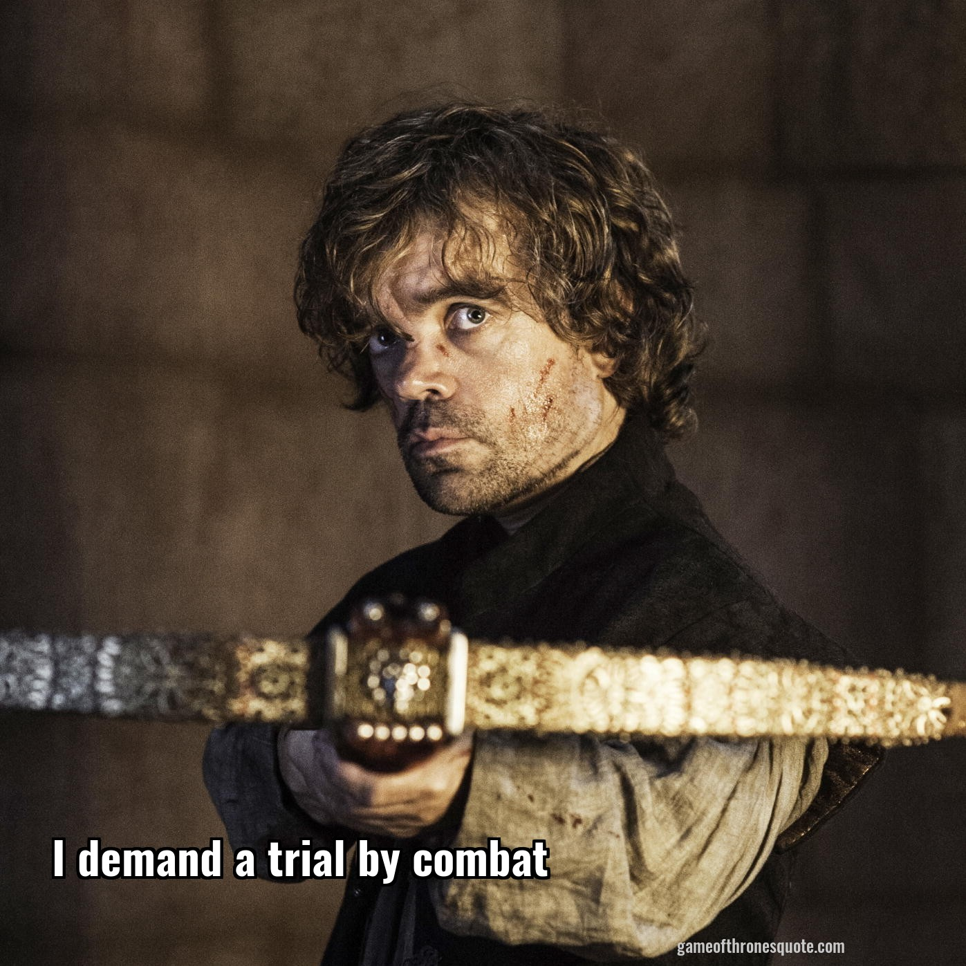 tyrion lannister i demand a trial by combat game of